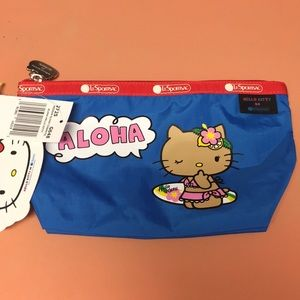 NWT Lesportsac x Hello Kitty Med Sloan Cosmetic